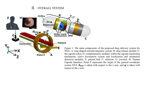 Analysis of the magnetic torque on a tilted permanent magnet for drug delivery in capsule robots