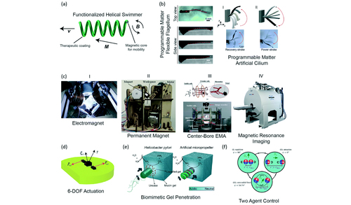 Mobile microrobots for bioengineering applications